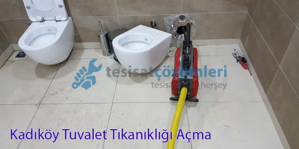 kadıköy tuvalet tıkanıklığı açma