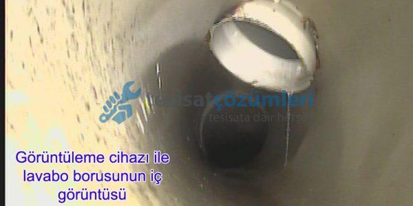 kamera ile tıkanan lavabo nasıl açılır