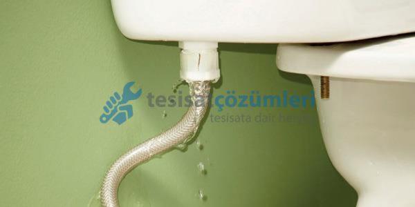 klozetin su sızdırması