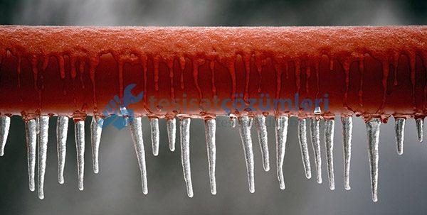 Pürmüz ile Donmuş Su Borusu Açma
